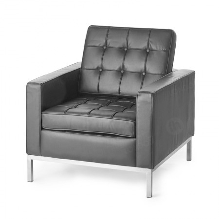 https://www.onlinefurniturehire.com/1 Seater Montague Sofa - Black