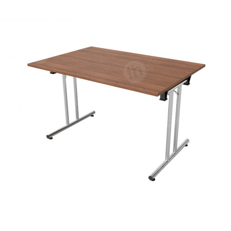 https://www.onlinefurniturehire.com/1200mm Walnut Modular Rectangular Table