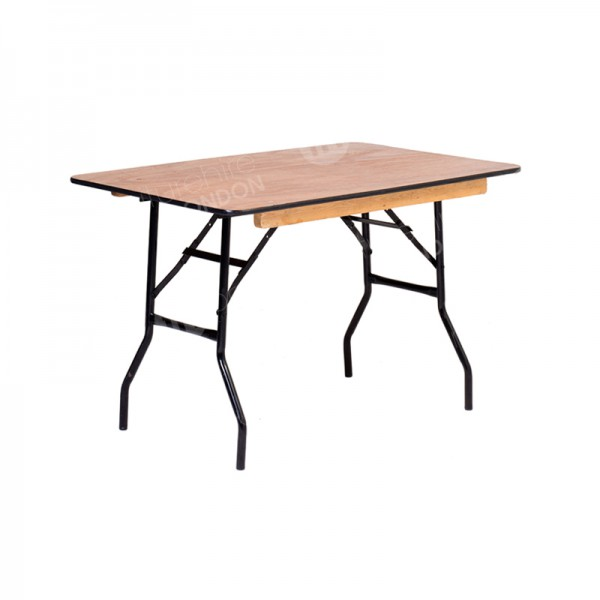 1220mm Rectangular Trestle Table