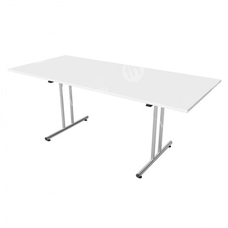 1800mm White Modular Folding Table
