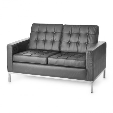https://www.onlinefurniturehire.com/2 Seater Montague Sofa - Black