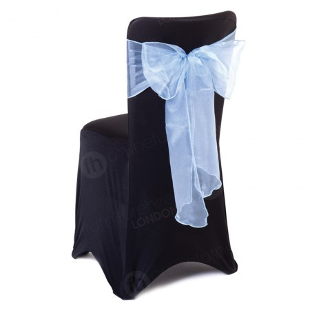 Banquet Chair With Cover - Black