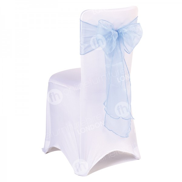 Banquet Chair With Cover - White