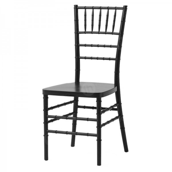Black Resin Chiavari Chair