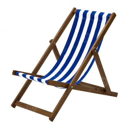 https://www.onlinefurniturehire.com/Deck Chair - Blue Stripe