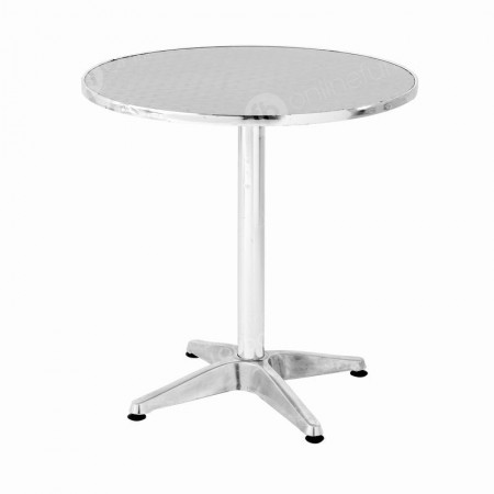 https://www.onlinefurniturehire.com/Chrome Bistro Table