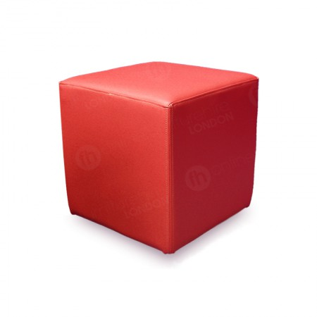 Cube Seating Red