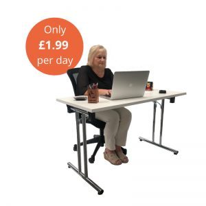 Desk & Ergonomic Chair - Package B