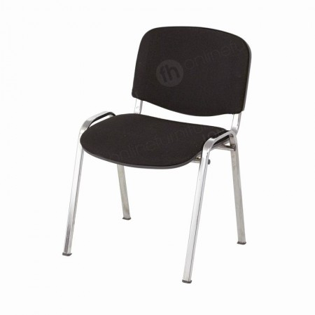 Kensington Black Stacking Chair