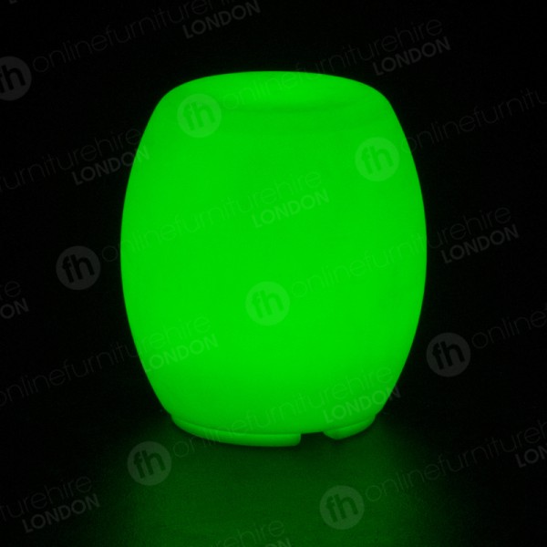 LED Colour-Changing Barrel Chair