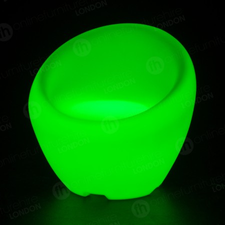 LED Colour-Changing Bubble Chair