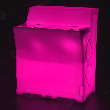 https://www.onlinefurniturehire.com/LED Colour-Changing Bar Straight with Ice Chest