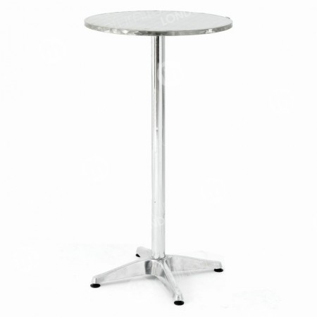 Poseur Table Chrome