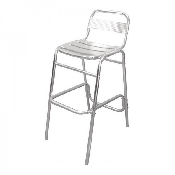 Stacking Aluminium Bar Stool