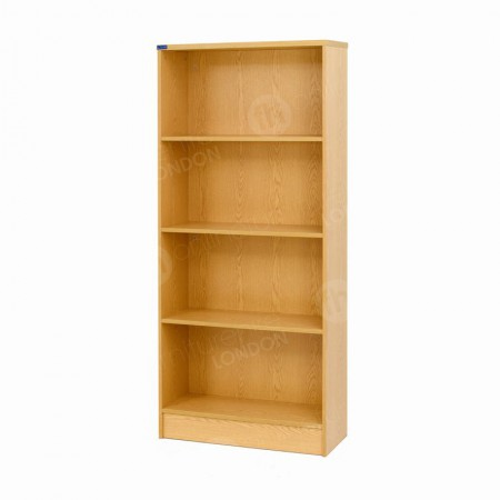 https://www.onlinefurniturehire.com/Wooden Bookcase with 3 Shelves